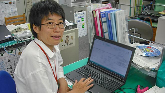 片山医師の写真
