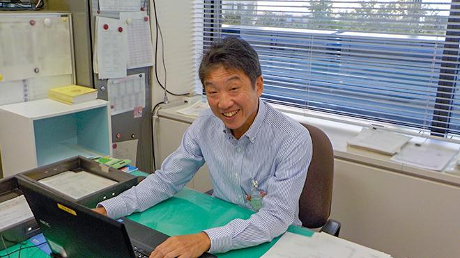 山田所長の写真